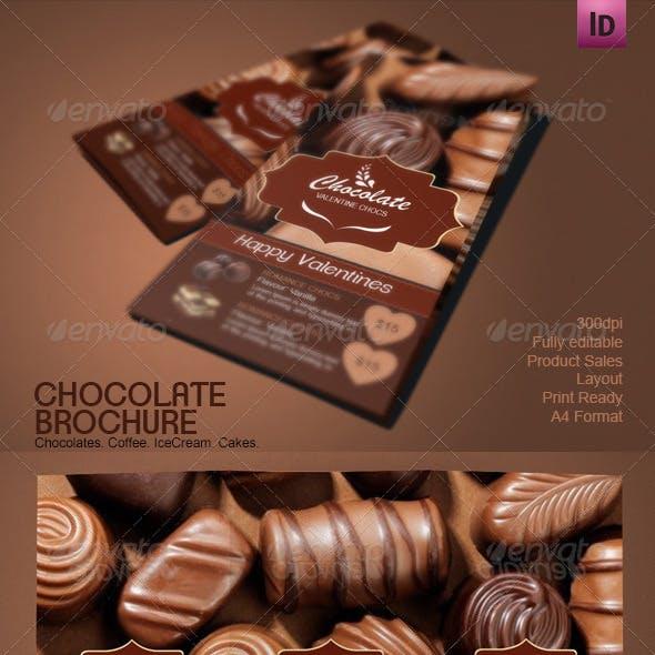 Chocolate Shop Brochure