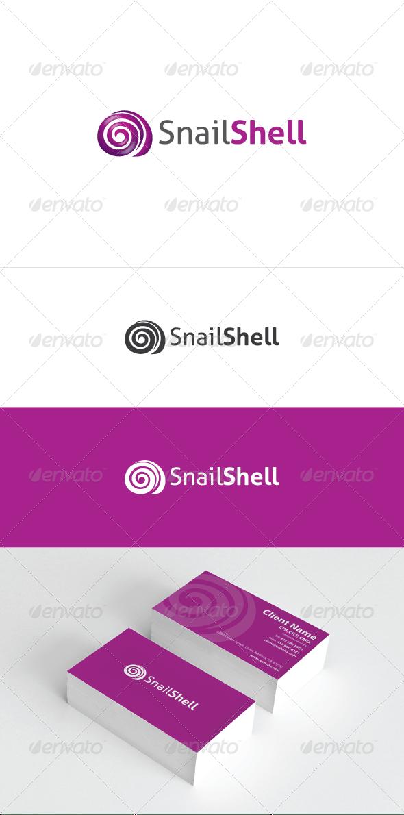 Snail Shell Logo Template - Animals Logo Templates