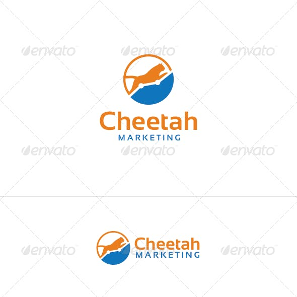 Cheetah Marketing Logo Template