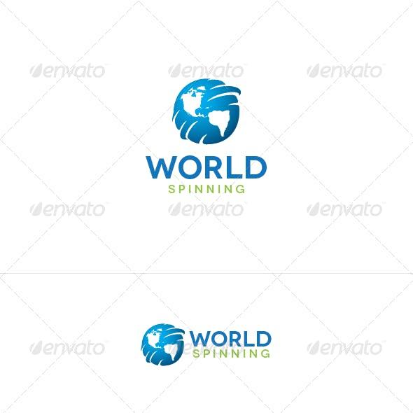 World Spinning Logo Template