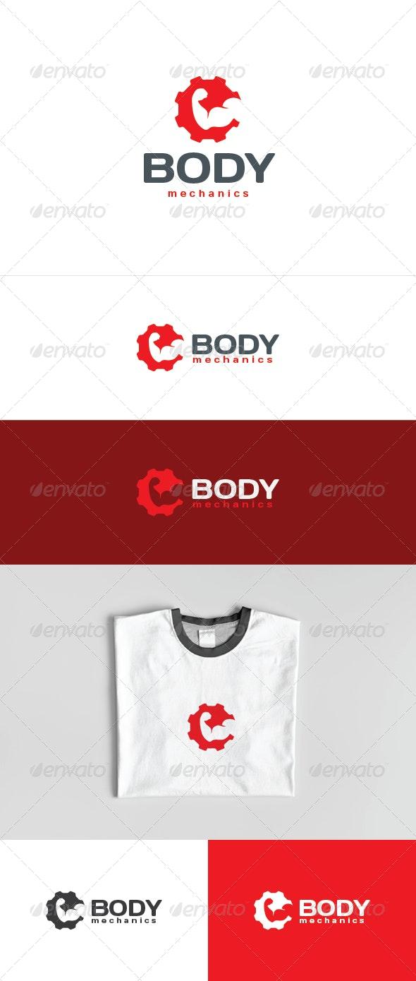 Body Mechanics Logo - Humans Logo Templates