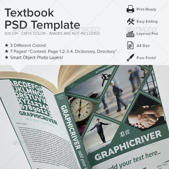 Textbook PSD Template