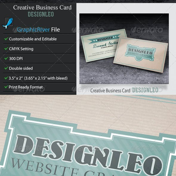 Business Card–DesignLeo