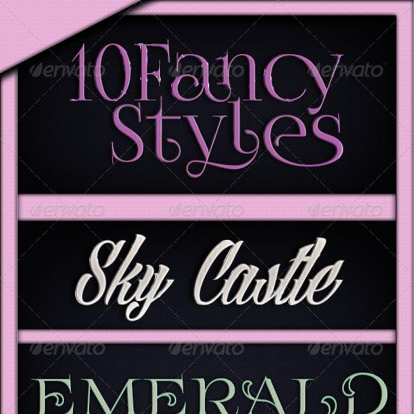 10 Fancy Text Styles