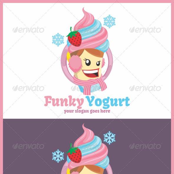 Funky Yogurt Logo