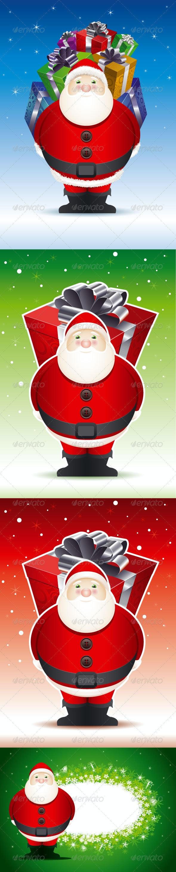 Santa Claus Set - Characters Vectors