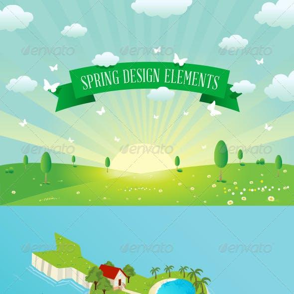 Spring Designs Elements