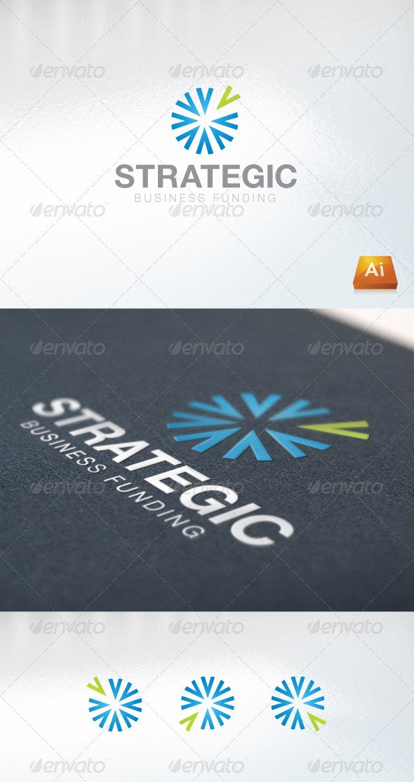 Strategic Business Funding - Abstract Logo Templates