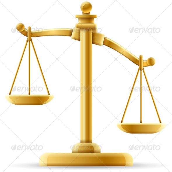 Unbalanced Scale of Justice