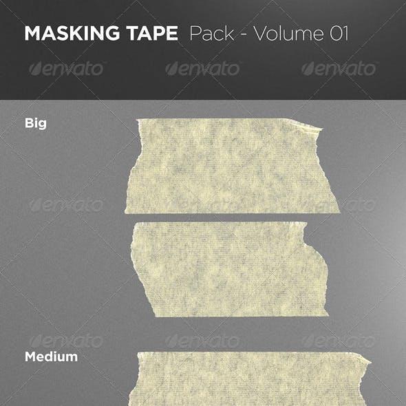 Masking Tape Pack - Volume 01