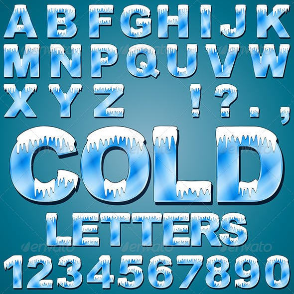 Ice Cold Letters