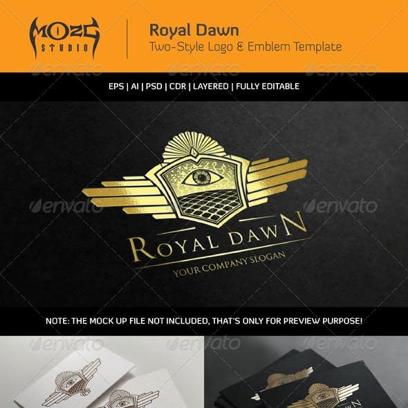 Royal Dawn - Logo & Emblem Template