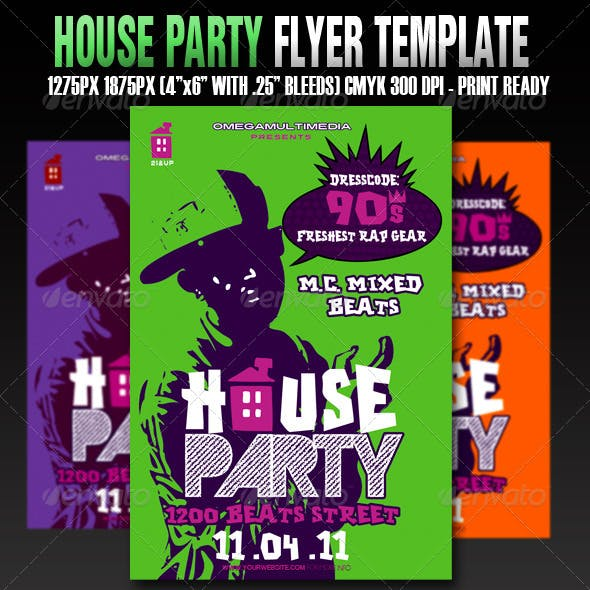 The House Party Template