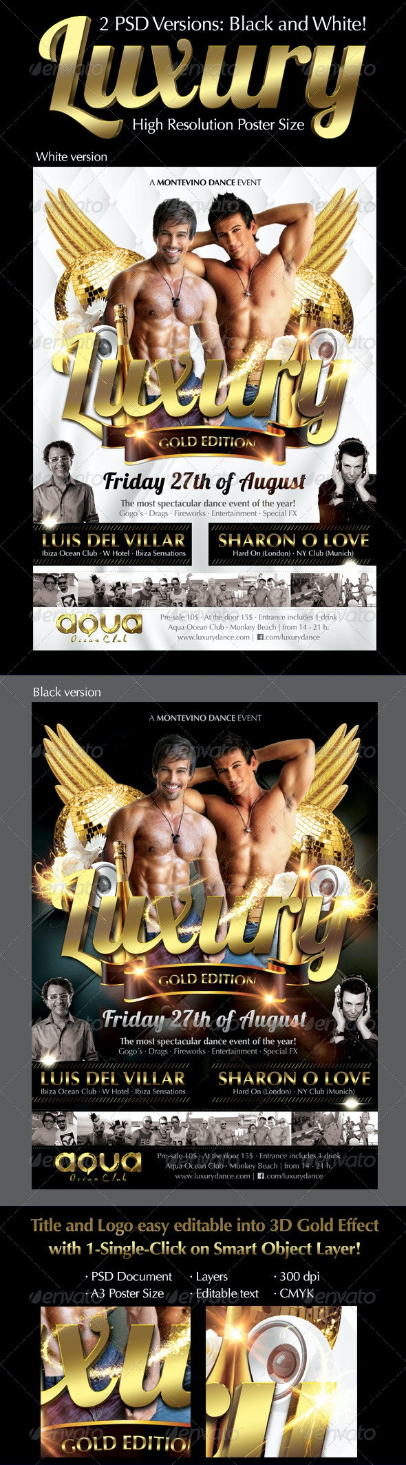 Luxury Party Flyer - Clubs & Parties Events