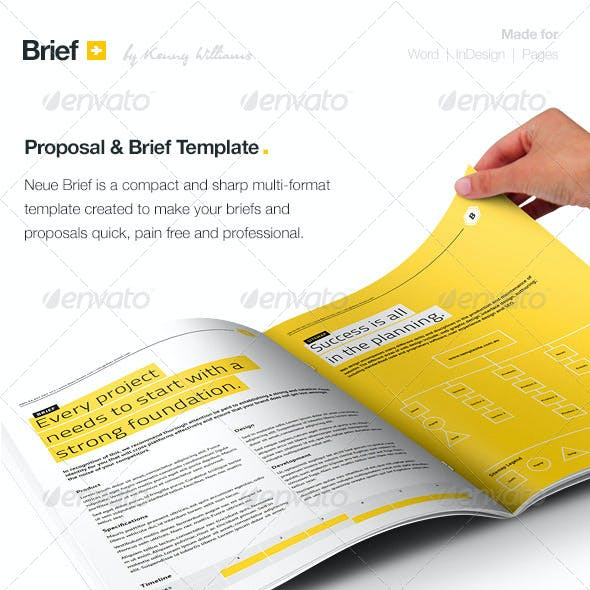 Brief - Proposal Template