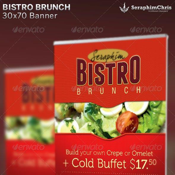 Bistro Brunch: Restaurant Banner Template