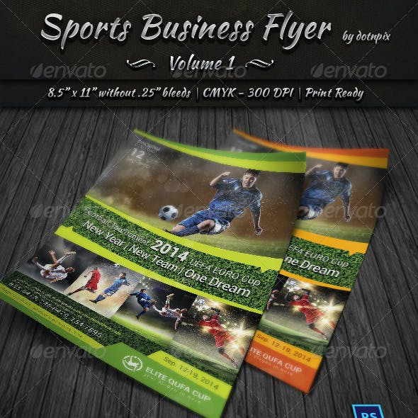 Sports Business Flyer | Volume 1