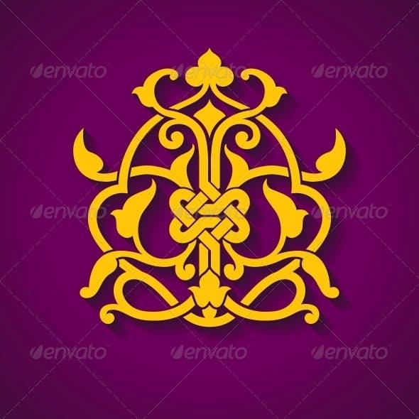Abstract Arabic Symbol