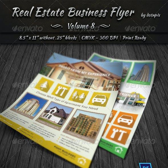 Real Estate Business Flyer | Volume 8