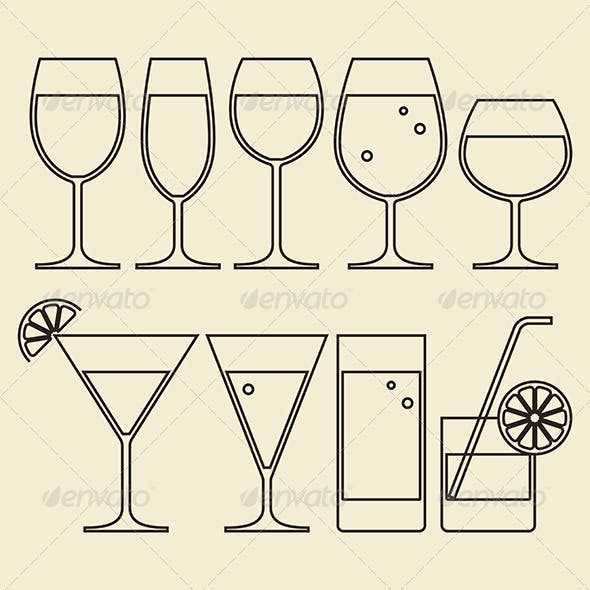Illustration of Alcohol