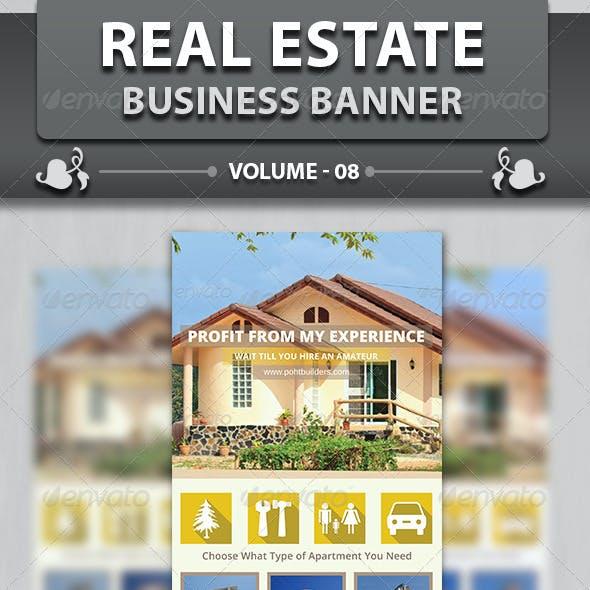 Real Estate Business Banner | Volume 8