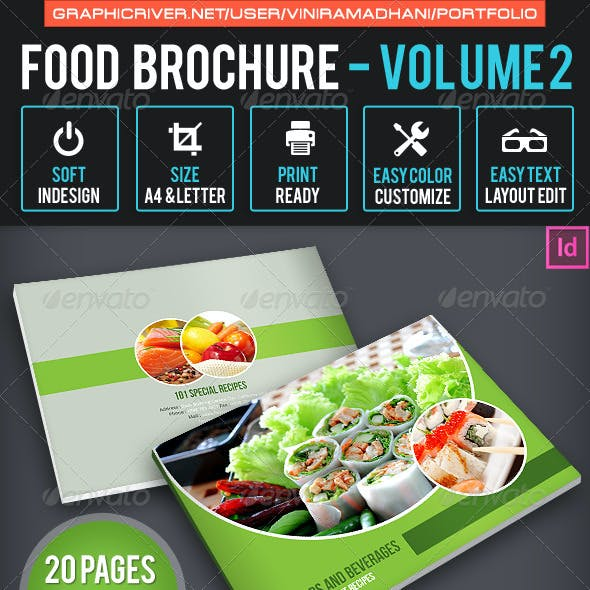 Food Brochure | Volume 2