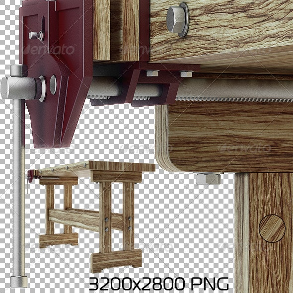 Woodworking Bench By Luckyfox Graphicriver