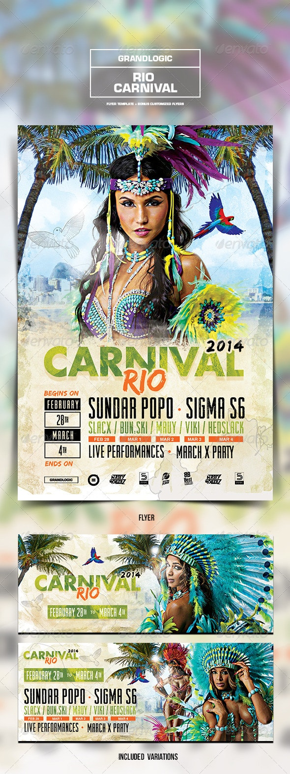 Carnival Flyer/Poster - Events Flyers