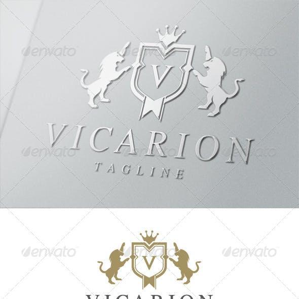 Vicarion Crest Logo