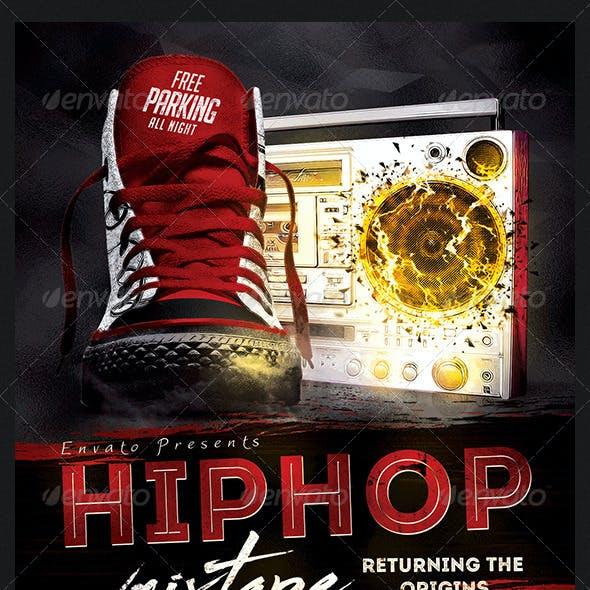 Hip Hop Mixtape Flyer Template