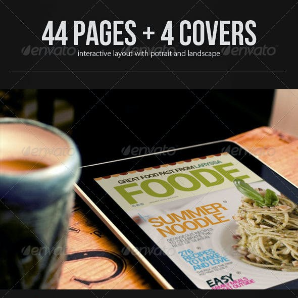 Interactive Magazine Template