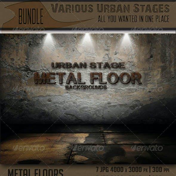 Various Urban Stages Bundle