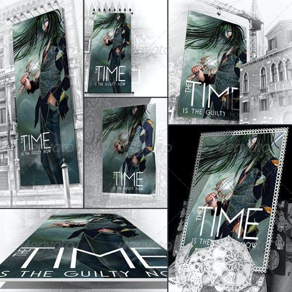 6 Venice Poster Mockups