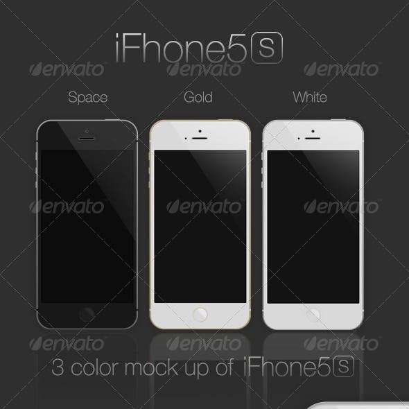 iFhone5s Mock-Up
