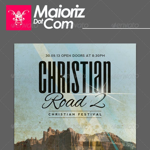 Christian Road 2 Flyer Event