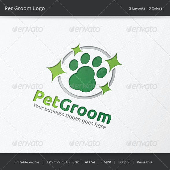 Pet Groom Logo