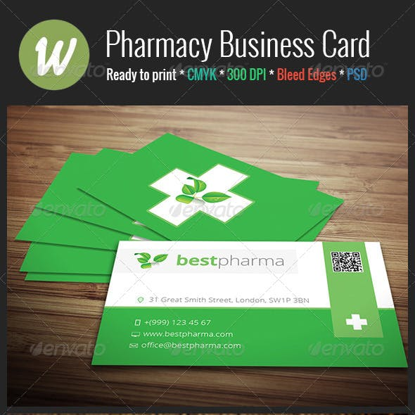 Pharmacy Business Card