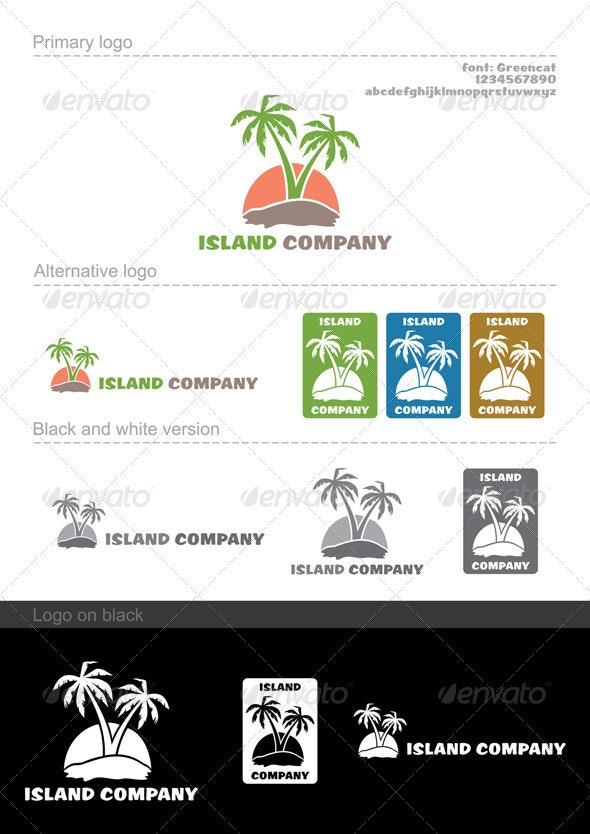 Island company - Company Logo Templates