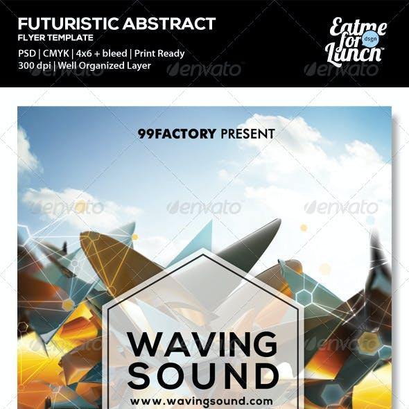 Futuristic Dance/Club Flyer Templates
