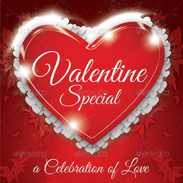 Valentine Special Party Flyer