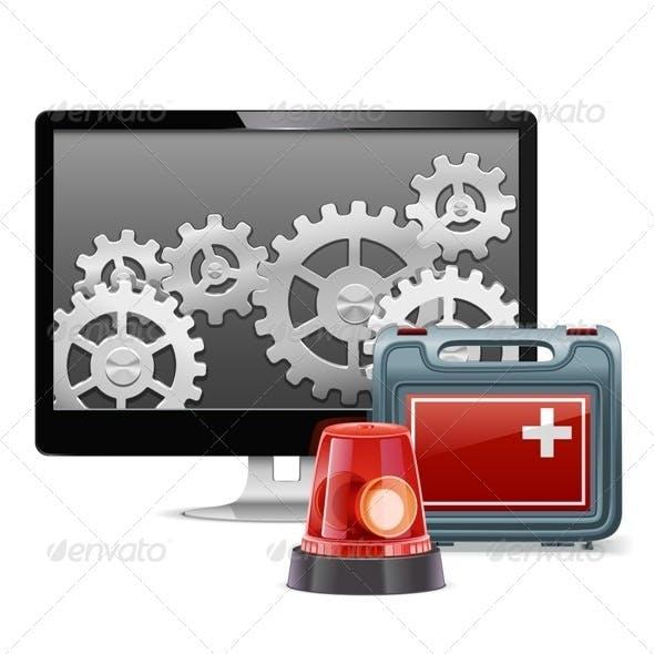 Vector Computer Emergency Support
