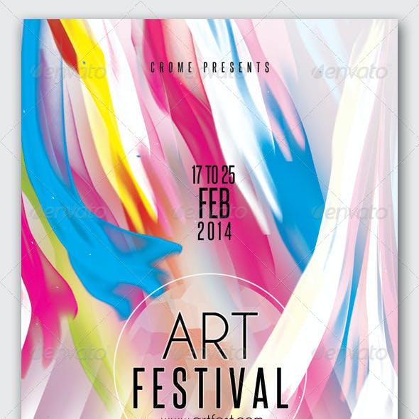 Art Festival Flyer 3