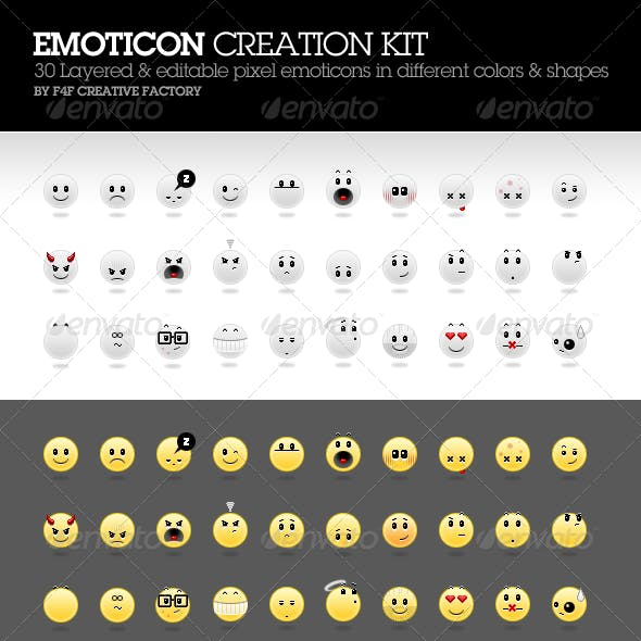 Emoticon Creation Kit
