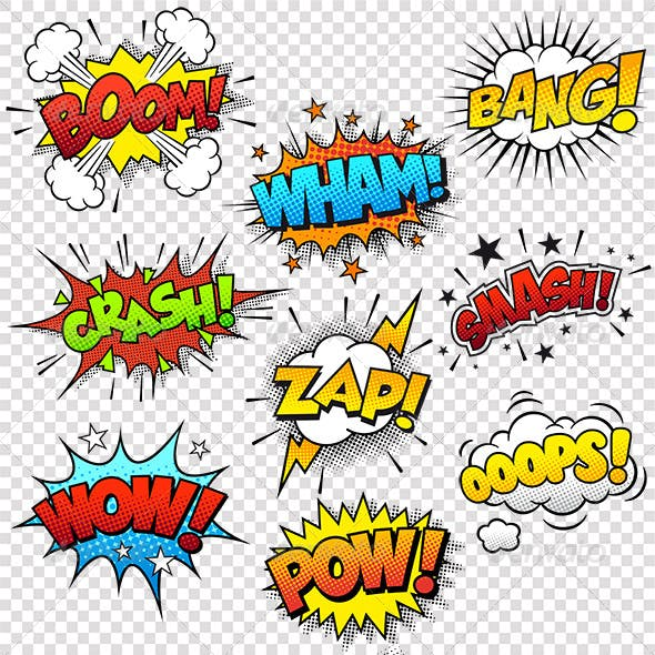 Comic Sound Effects