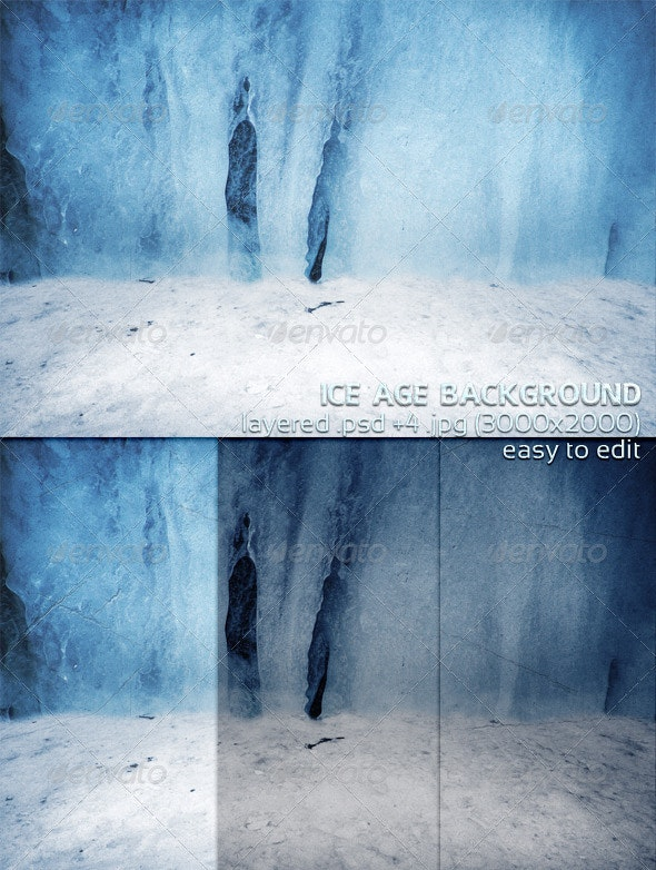 Ice Age Background - Backgrounds Graphics