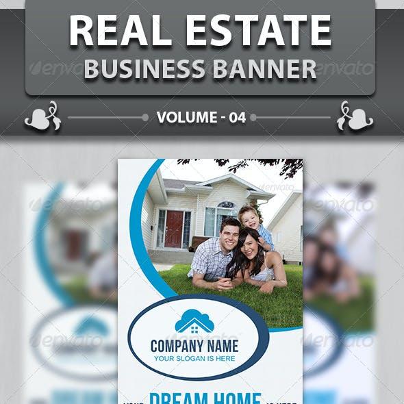 Real Estate Business Banner | Volume 4
