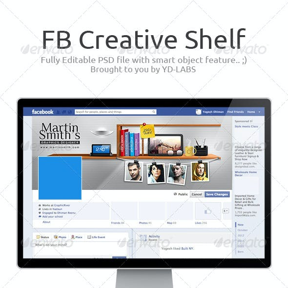 FB Creative Shelf
