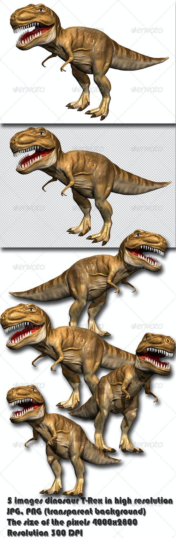 Dinosaur T-Rex - Characters 3D Renders