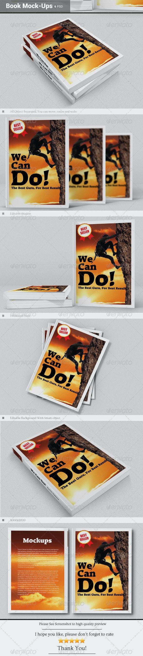 Book Mock-Ups - Books Print