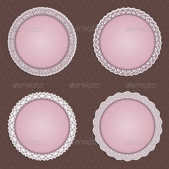 Decorative Circular Borders - Backgrounds Decorative